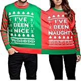 Naughty and Nice Two-Person Top