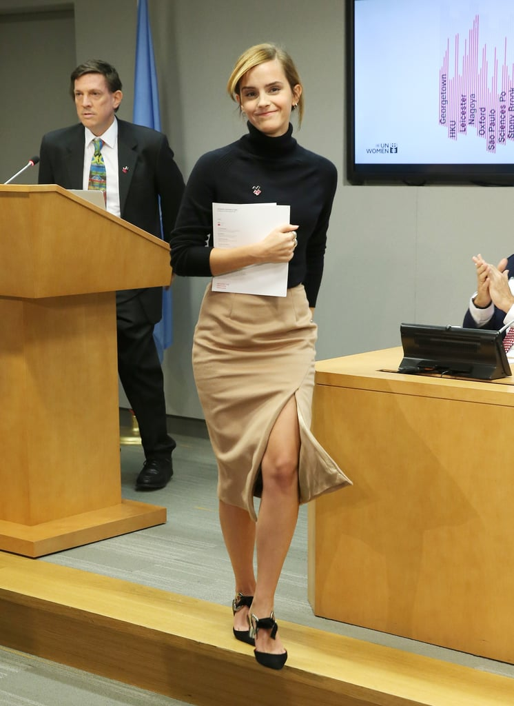 Emma Watson's Zady Outfit at the UN 2016