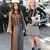 Courtney Love Came With Her Daughter, Frances Bean Cobain