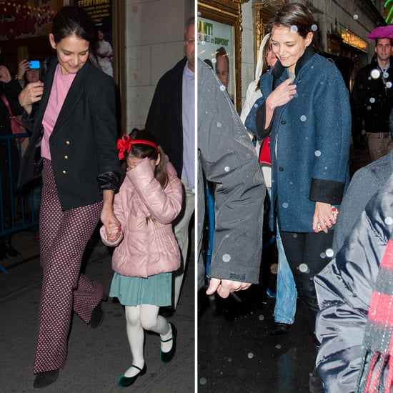 Katie Holmes Takes Suri Cruise to Her Broadway Play