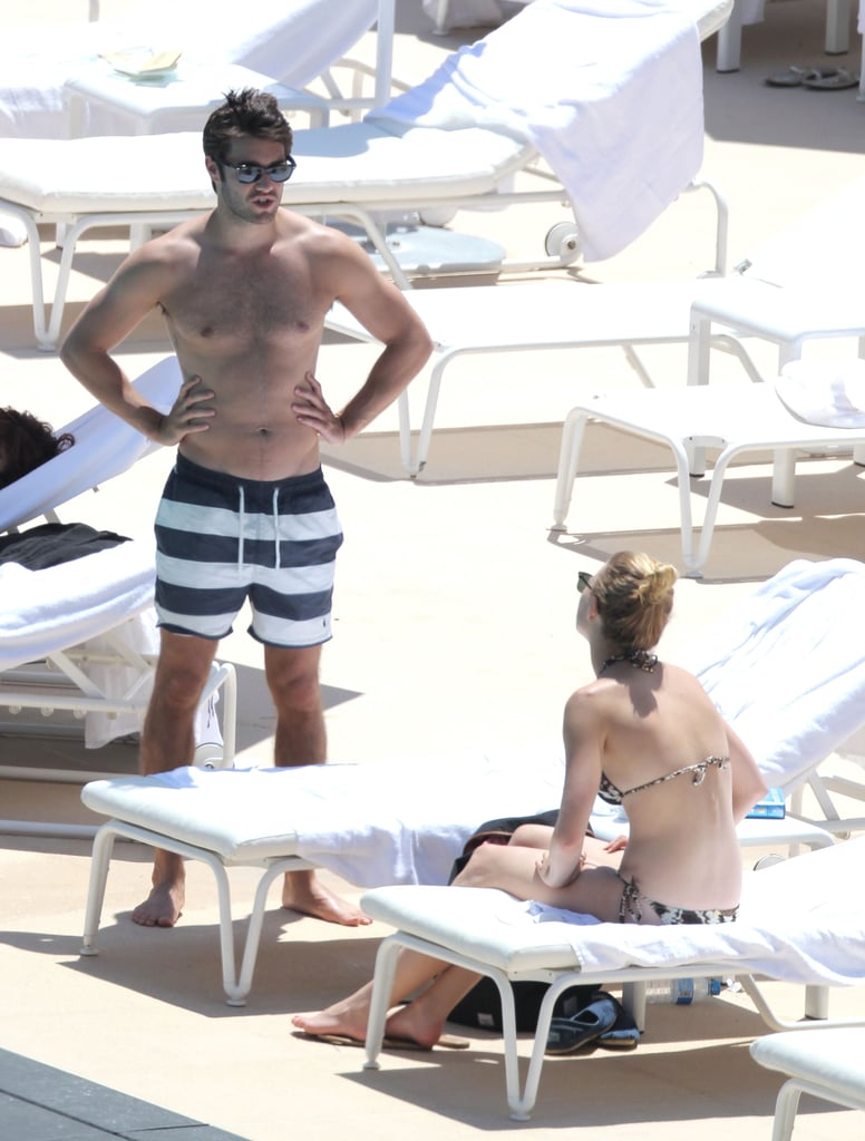 Emily VanCamp and Joshua Bowman soaked up the sun in Monaco.