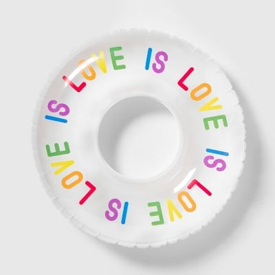 Inflatable Love Is Love Pool Float