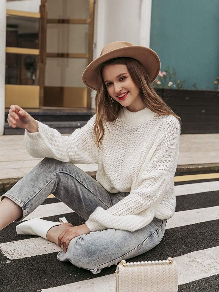 A Warm, Oversized Sweater