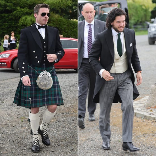 Robb Stark Game of Thrones Quote at Kit Harington's Wedding