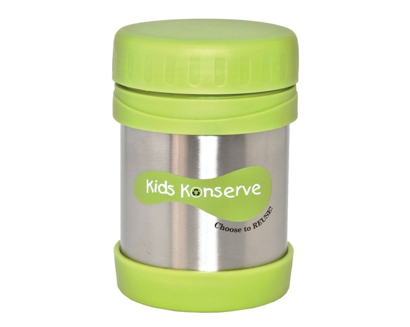 Kids Konserve is all about reusable lunch-packing products, and the company's BPA-free insulated food jar ($13, originally $21) is no exception.