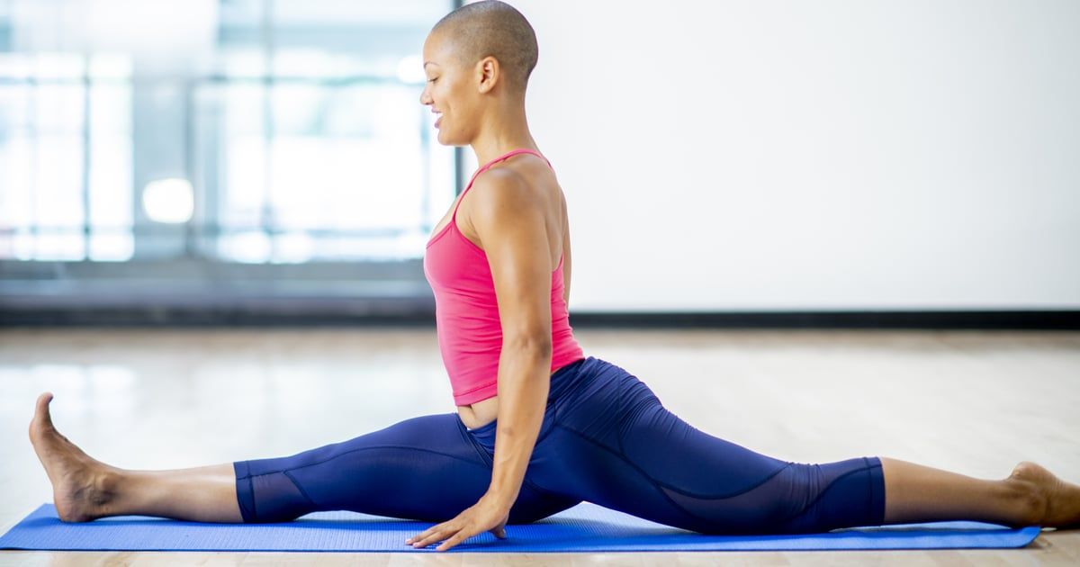 If You're Trying to Get Your Splits Down, Check Out These Yoga Videos For Help
