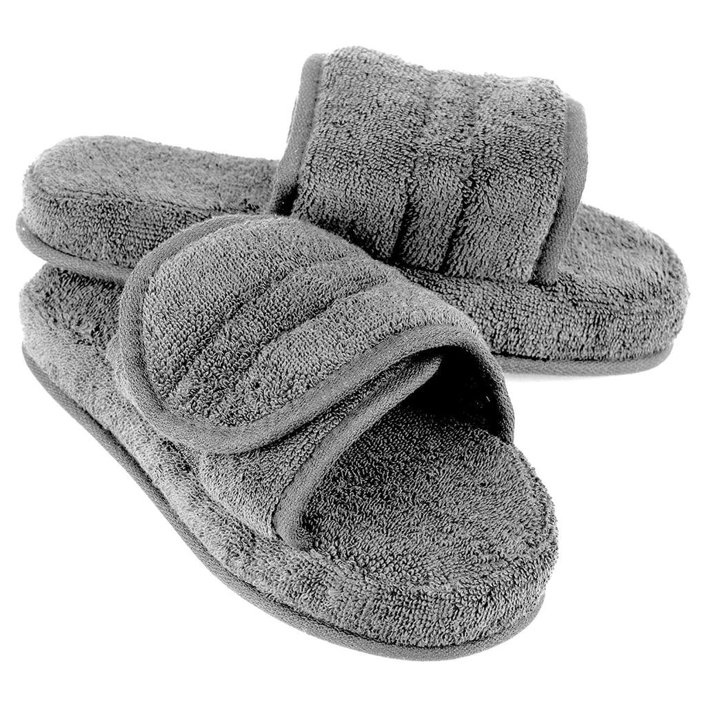 cb3be9e52 Kim Kardashian Wearing Yeezy Slides and Socks