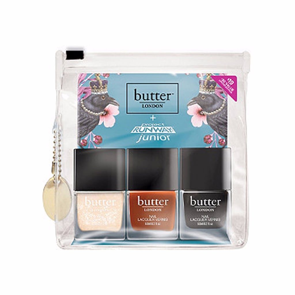Butter London Peace of Armor Project Runway Jr Set Giveaway