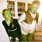 Princess Fiona and Shrek