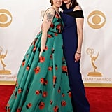 Lena Dunham walked the red carpet with her mom, Laurie Simmons.