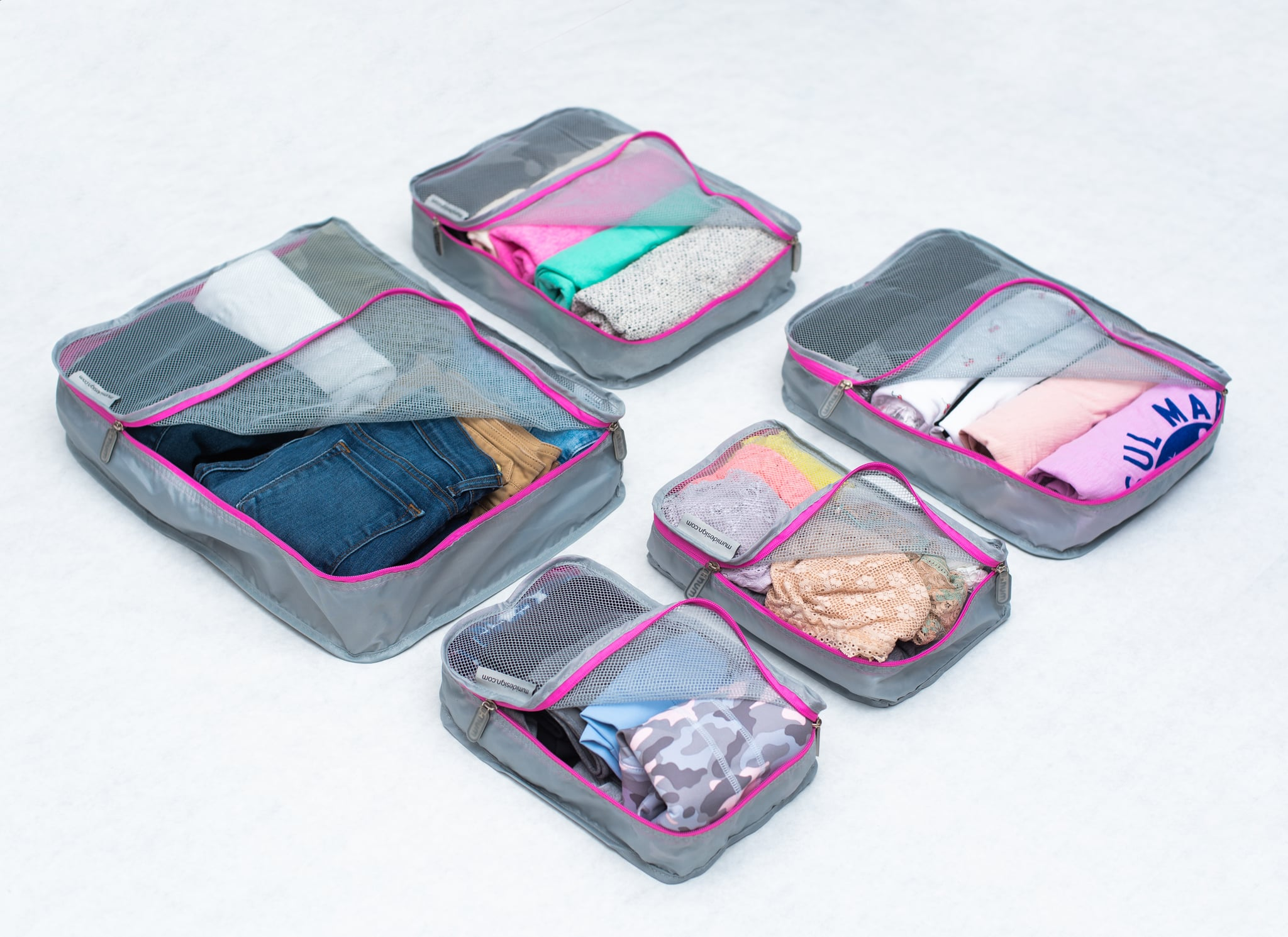 Mumi Packing Cubes