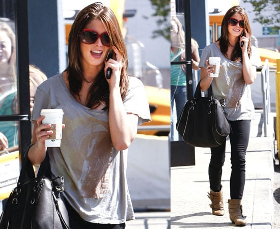 Pictures of Ashley Greene in West Hollywood