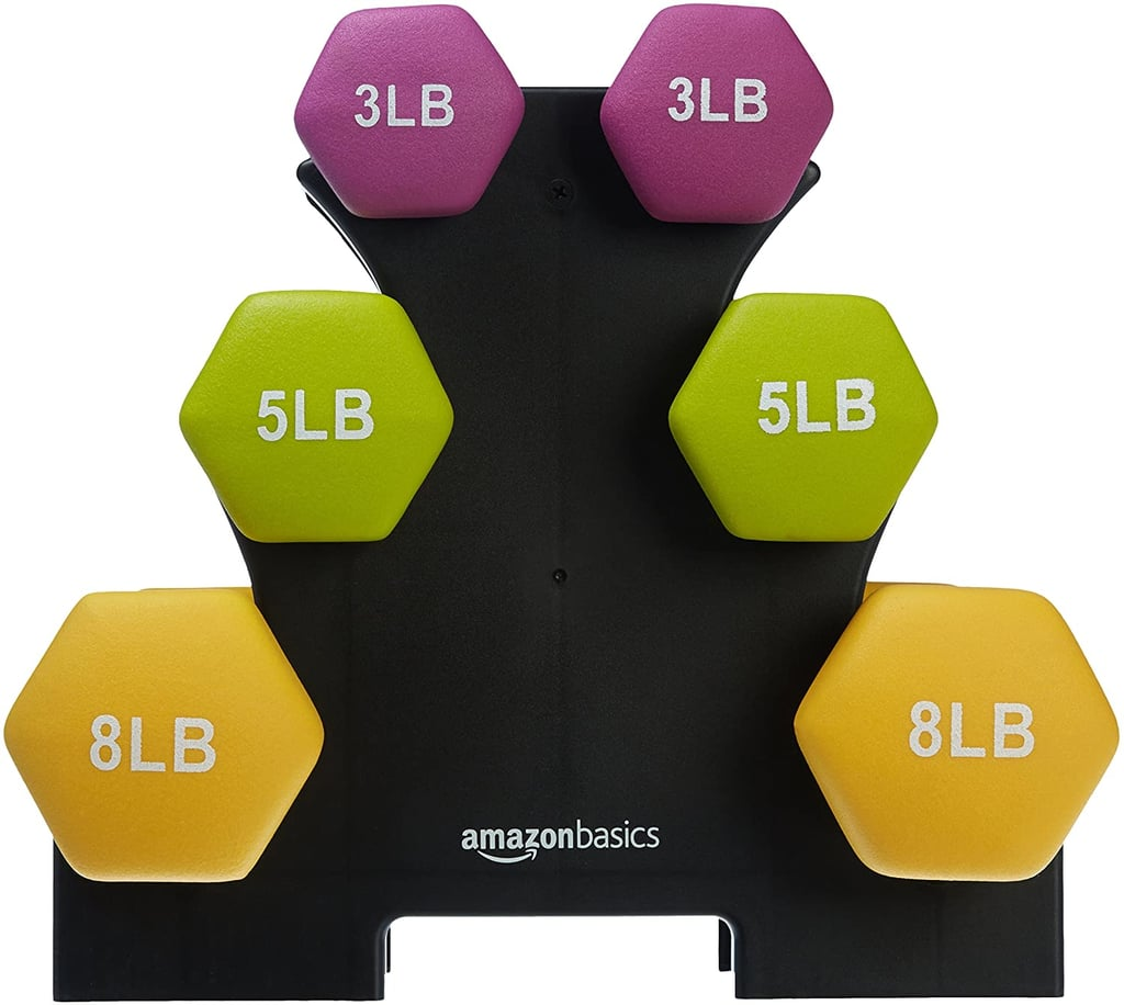Amazon Basics Neoprene Dumbbell Hand Weights