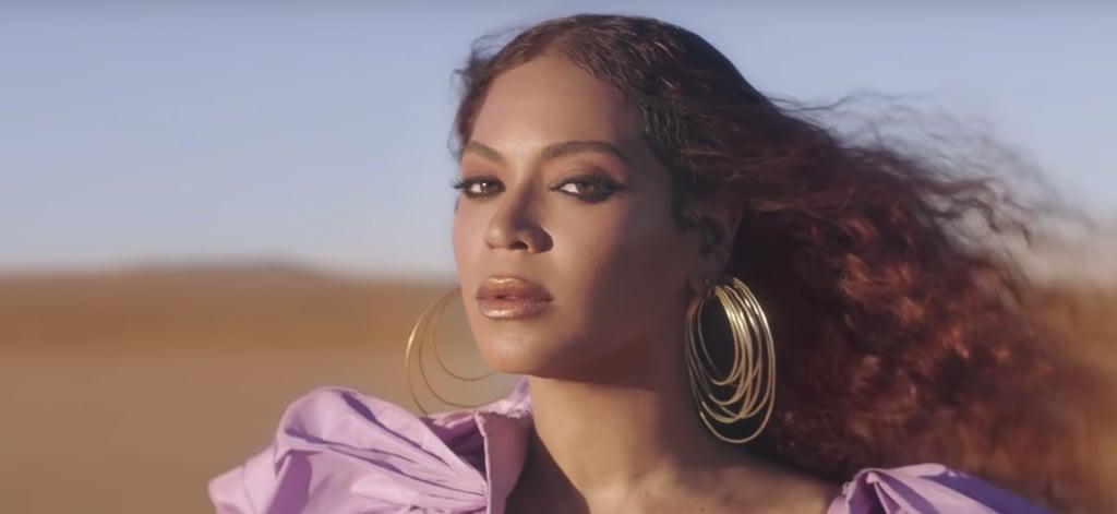 "Beyoncé's Smoky Eye Makeup in ""Spirit"" Music Video"