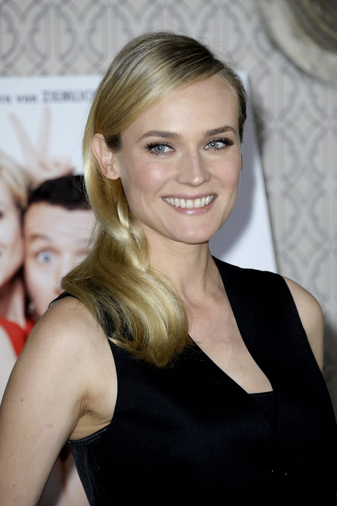 Diane Kruger smiled at the photocall for Der Naechste, Bitte! in Germany.