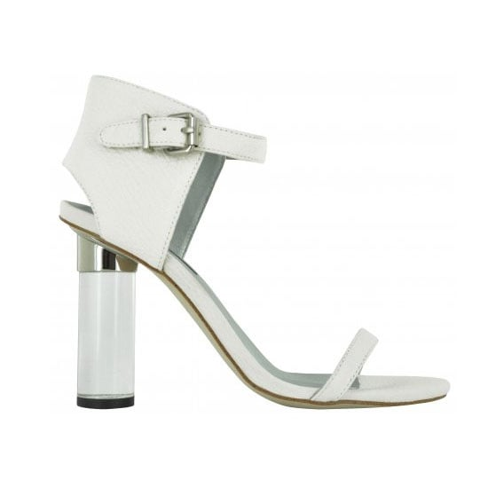 An All-White Heel