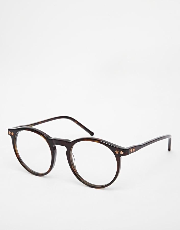 Wildfox Steff Round Glasses ($226)