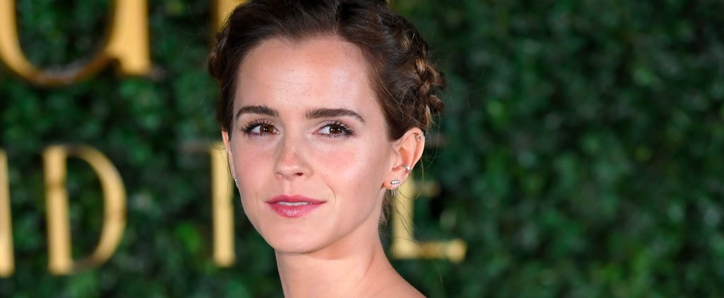 Zoom In on Emma Watson's Makeup and You'll See How Magical She Really Is