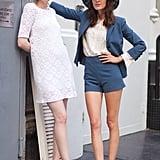 Alexa Chung and Karen Elson make a very charming Summer style duo. Source: Le 21ème | Adam Katz Sinding