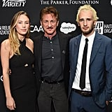 Sean Penn and His Kids at Haiti Gala 2017 Pictures