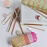 Rattan Pencil Case