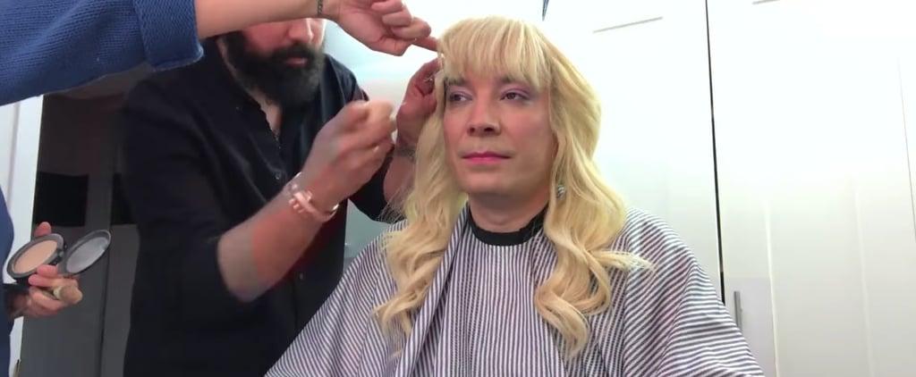 "Watching Jimmy Fallon Transform Into Sara Isn't ""Ew!"" at All"