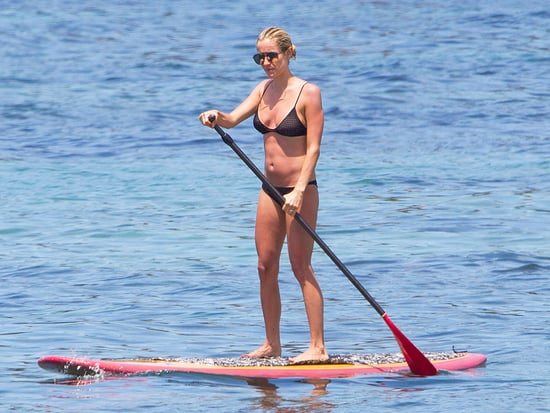 Fit Mama! Kristin Cavallari Works Her Abs While Paddleboarding in Bali
