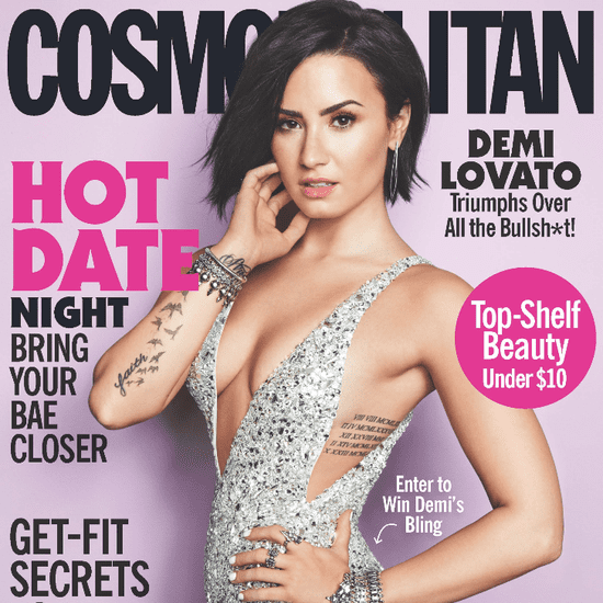 Demi Lovato Defends Her Cosmopolitan Cover