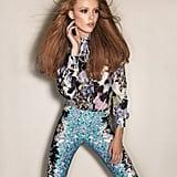 Bold patterns at Sportmax. Source: Fashion Gone Rogue