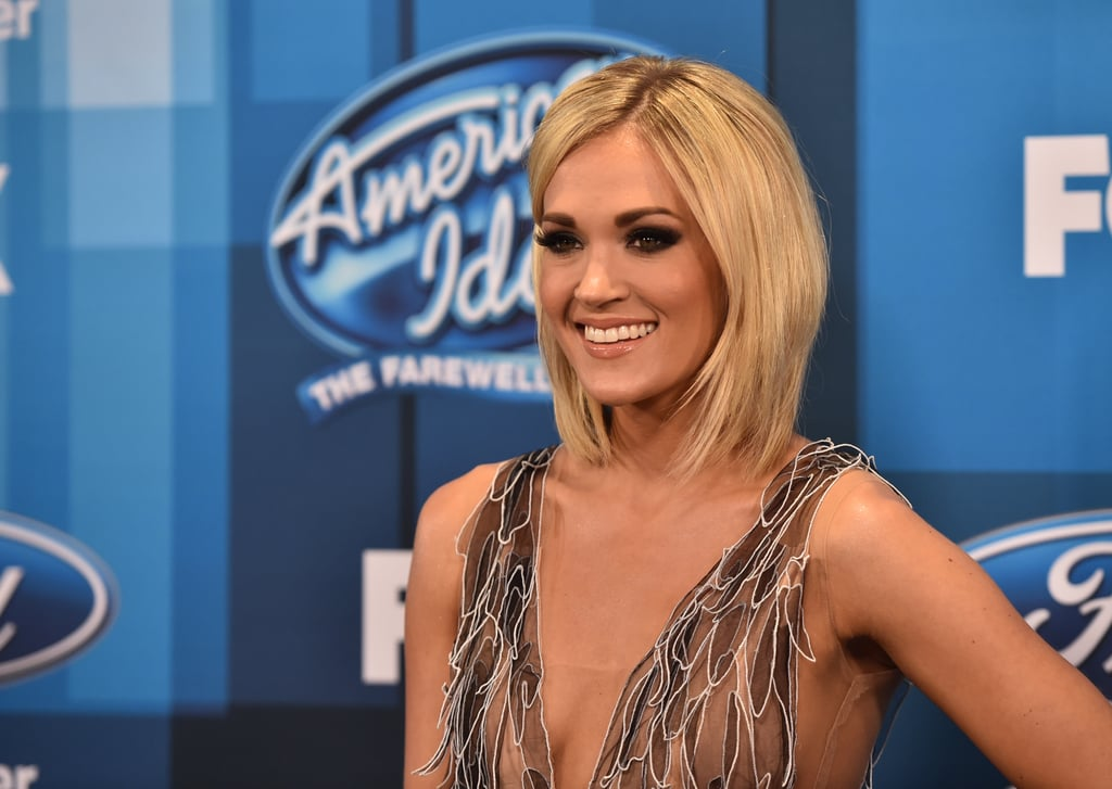 Carrie Underwood at the American Idol Finale 2016