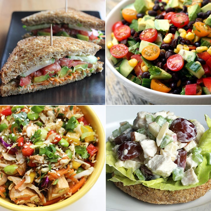 32 healthy lunches under 400 calories popsugar fitness uk