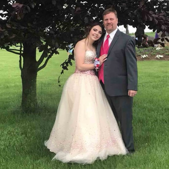Dad Takes Son's Girlfriend to Prom After Car Accident
