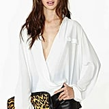 Nasty Gal Wrap Blouse