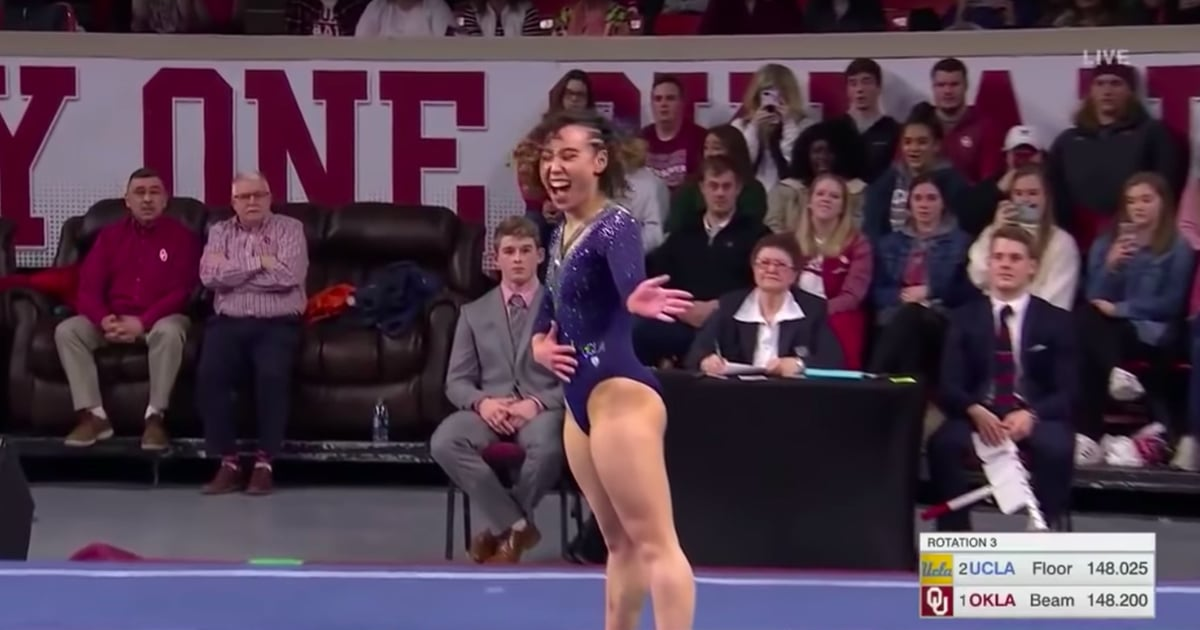 Katelyn Ohashi Gymnastics Floor Routine March 2019
