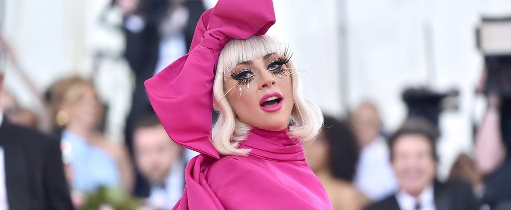 Lady Gaga Eyelashes at the Met Gala 2019