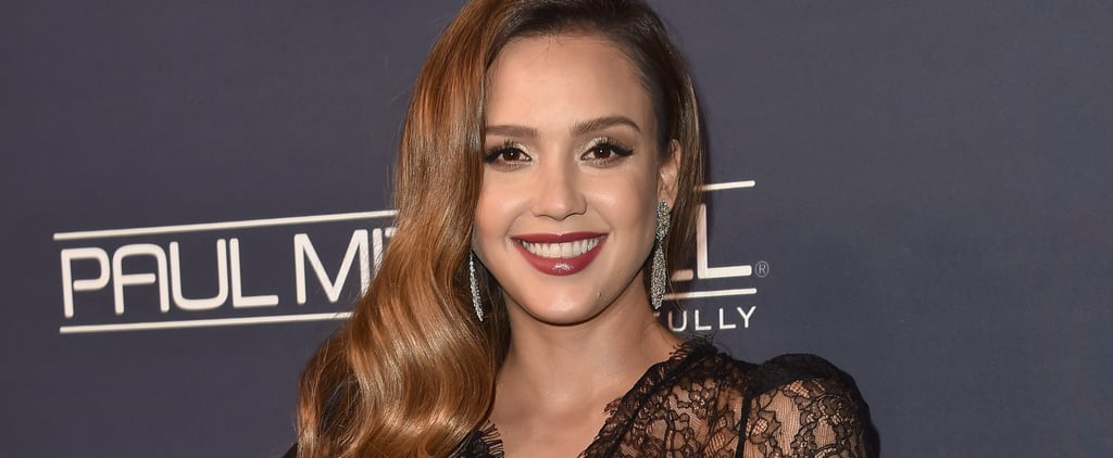 Jessica Alba Supports Time's Up While Breastfeeding