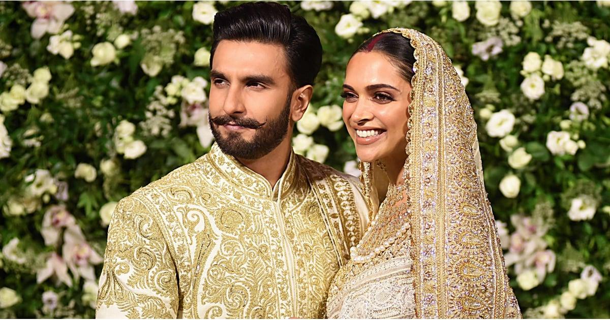 Deepika Padukone's Wedding Dress   POPSUGAR Fashion