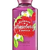 Bath & Body Works Bourbon Strawberry and Vanilla Shower Gel