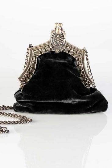 House of Harlow 1960 Rey Bag in Black Velvet ($159)