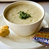 Instead of: Clam Chowder