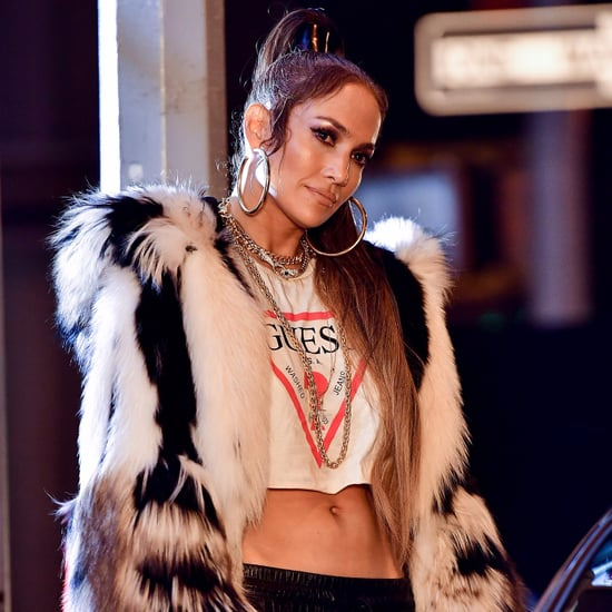 Jennifer Lopez on Set of Music Video August 2017
