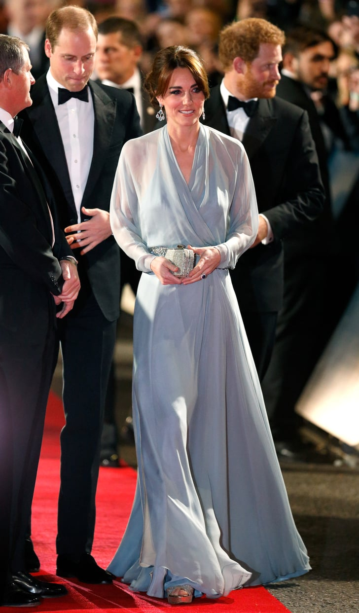 October 2015 Kate Middleton In Jenny Packham Dresses Popsugar Fashion Photo 1