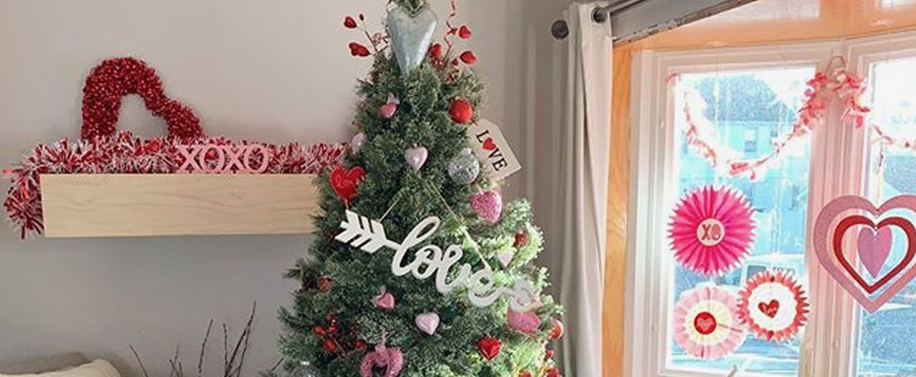See Photos of Valentine's Day Christmas Trees