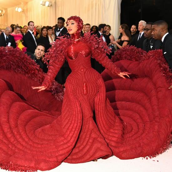 Cardi B Met Gala Dress 2019