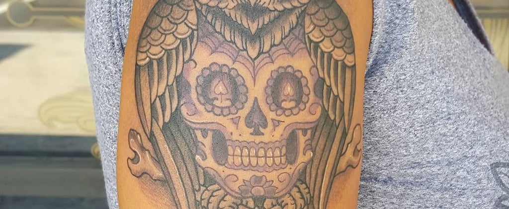 25 Meaningful Sugar Skull Tattoos You'll Want to Get Immediately