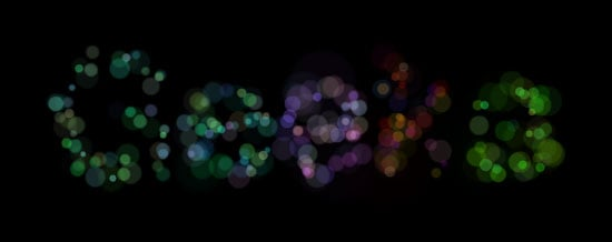 Turn Your Words Into Bokeh Type Images