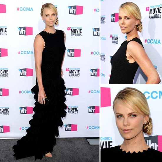 Charlize Theron at Critics' Choice 2012