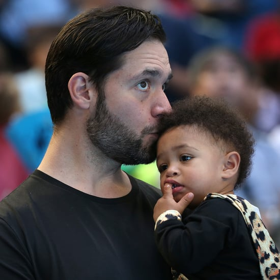 Alexis Ohanian Talks About Fixing His Daughter's Hair