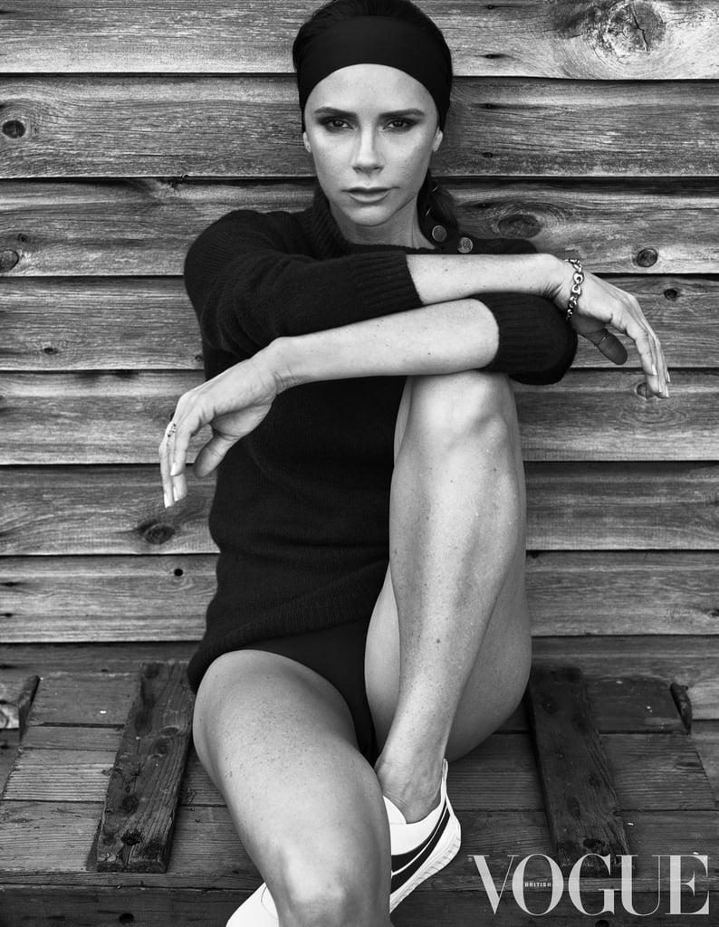 Victoria Beckham in British Vogue