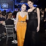 Rachel Brosnahan and Phoebe Waller-Bridge at the 2020 Critics' Choice Awards
